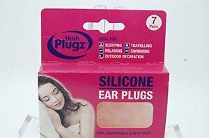 Genuino hush plugz tappi per le orecchie in silicone 7 for Tappi orecchie antirumore