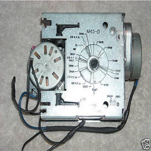 Milnor washer Timer M45-d
