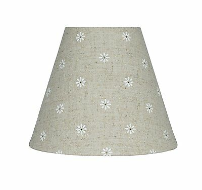 Details about Urbanest Linen Mini Chandelier Lamp Shade, Clip On, Hardback, 3
