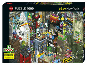 Heye Puzzles - 1000 piece jigsaw Puzzle New York Quest (eBoy) HY29914
