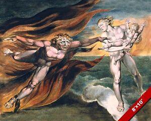 angel vs devil for soul of child good v evil painting christian art