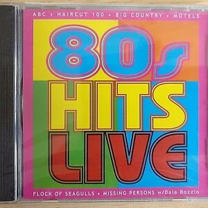 Details about NEW SEALED - 80s HITS LIVE - Pop Music CD Album - ABC Big  Country Haircut 100