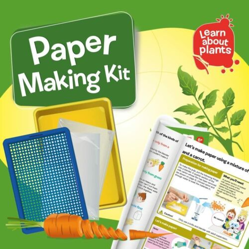 Magnoidz Labs Paper Making Science Kit for Kids