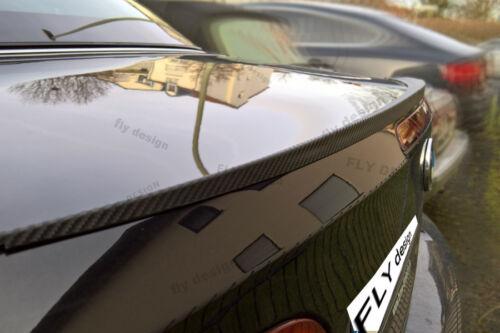 POUR BMW 320 325 323 330 335 mâ³ SPOILER CARBON LOOK Rear spoiler Slim lip Becquet