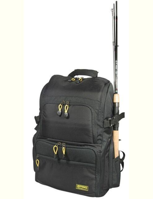4 Kunststoffboxen Rucksack Angelrucksack Raubfischtasche Back Pack Camouflage m