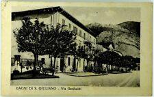 Cartolina Formato Piccolo - Bagni Di San Giuliano - Via Garibaldi Viaggiata