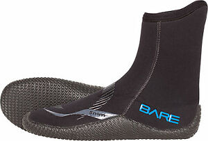 Bare Scuba Diving Snorkeling Booties Bare 5mm Wetsuit Boot