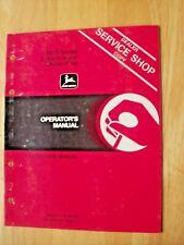 Original John Deere 1610 Series 2 Bar Integral Chisel Plow Operators Manual