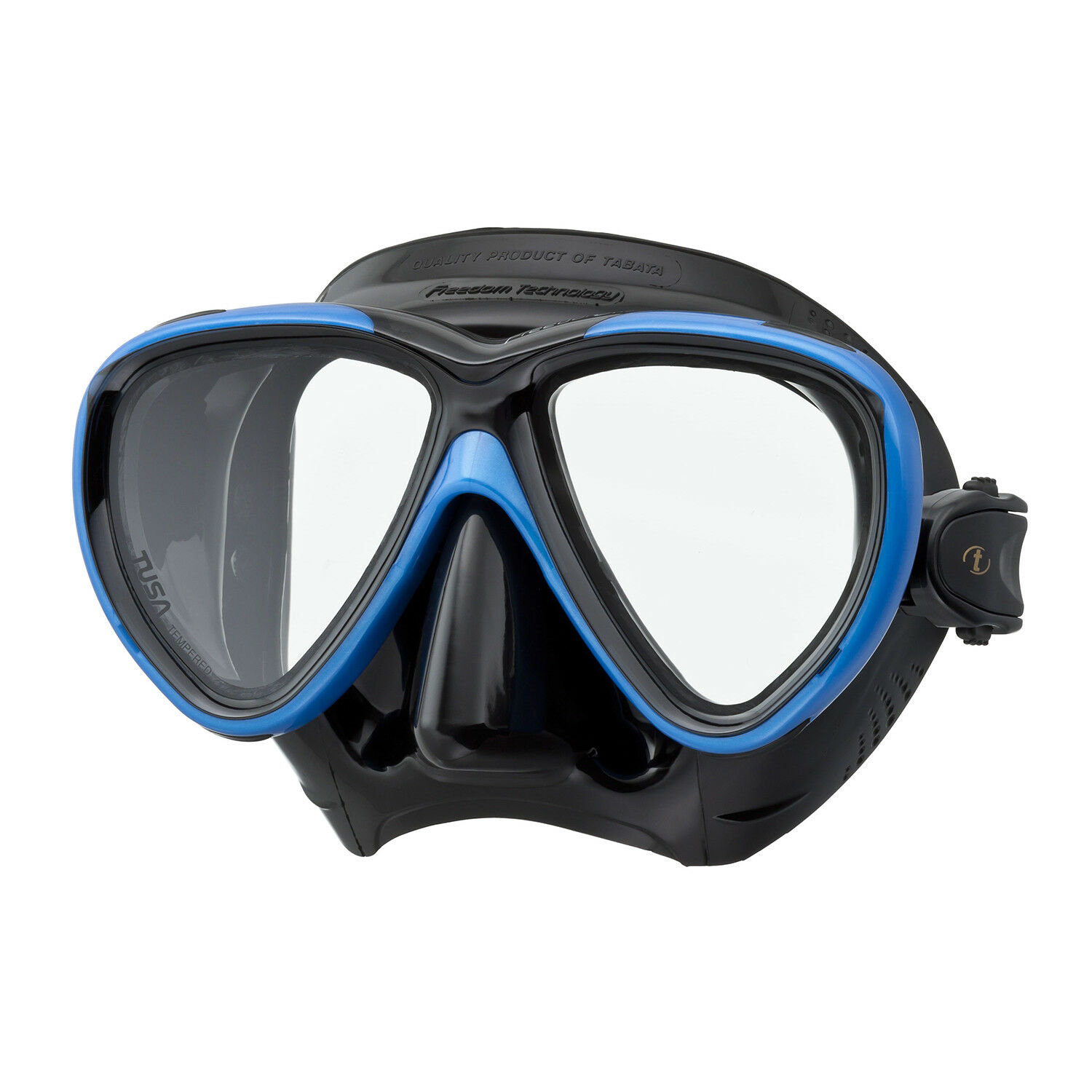 TUSA Freedom One Scuba, Snorkel Mask with Freedom Fit Technology