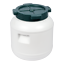 Kunststofffass 5-60 L cuves regenfass deckelfass tonneau pour Kohl concombres tonne