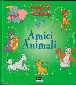 LIBRO-PER-BAMBINI-Magie-Disney-Amici-Animali-a-COLORI-300-PAGINE-COP-RIGIDA