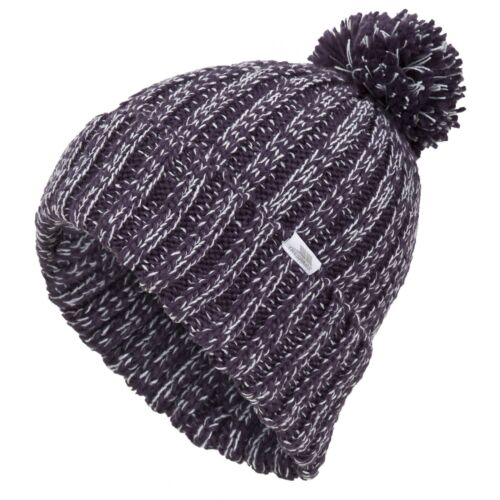 TP1067 Trespass Womens//Ladies Lockhart Knitted Winter Bobble Hat