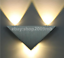 Modern Led Wall Lamp 3W Triangle Wall Light Bedroom  Light Fixture Wall Sconce