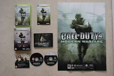 Call of Duty 4 Modern Warfare LIMITED COLLECTOR'S EDITION XBOX 360-GRATIS UK P & P