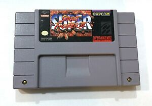 Street-Fighter-II-2-The-New-Challengers-SUPER-NINTENDO-SNES-Game-Tested