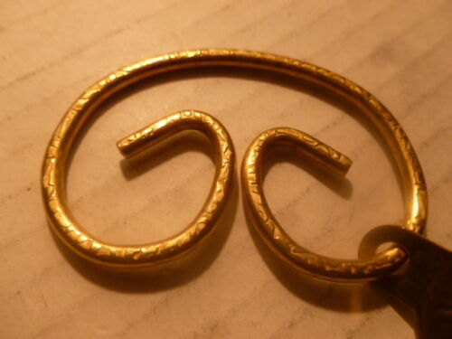 Jean Ring Rings Marc Creates Original Solid Brass Key 2019 Useful /& Collectible