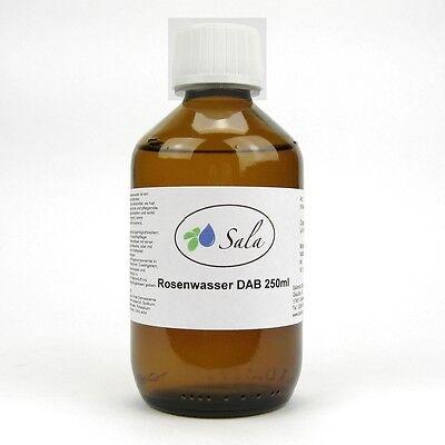 (1,80/100ml) Sala Rosenwasser Lebensmittelqualität Rose Wasser DAB 250 ml Glasfl