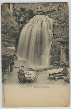 1900 era Amselfall(Sachs schweiz)  Saxon Switzerland  Beer Drinking Bier Garten
