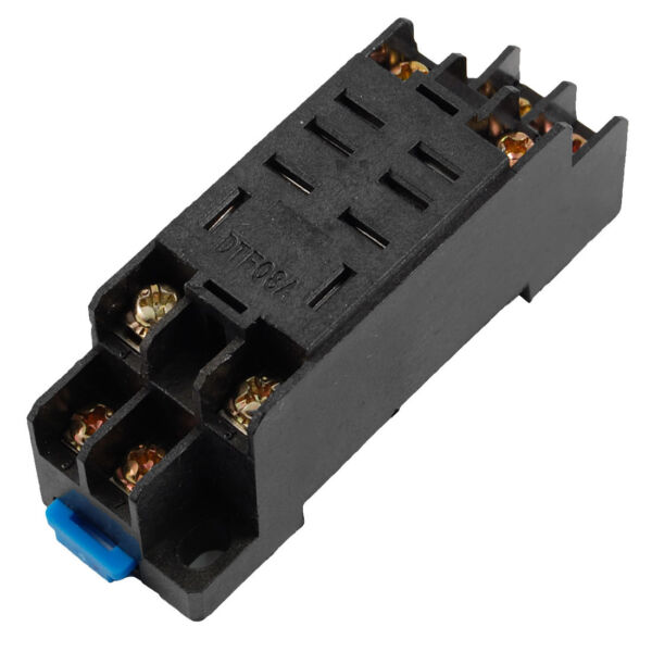 Replacement Din Rail Mounting 8 Pins Relay Socket Base Holder For Sale Online
