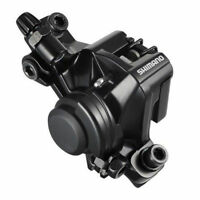 Shimano Br-m375 Mechanical Disc Brake Caliper With Pads, Type, Black, X18a