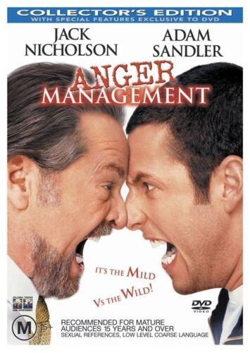 1 of 1 - Anger Management (2003) Adam Sandler - NEW DVD - Region 4
