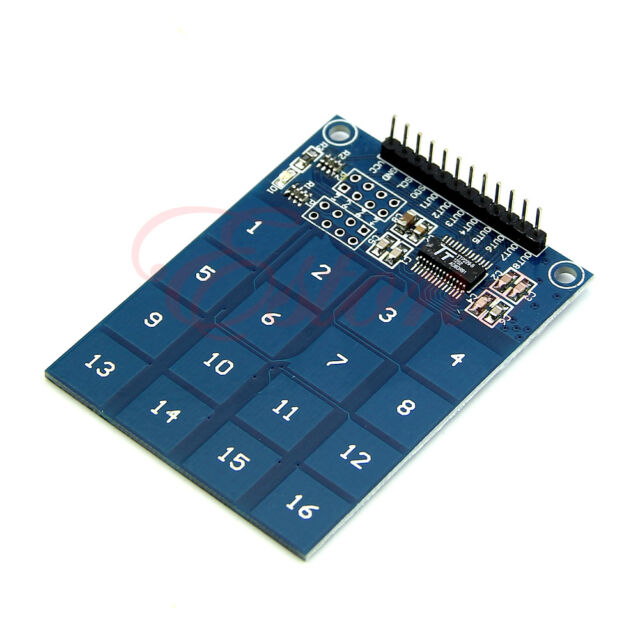 16 Channel Capacitive Touch Switch Digital Touch Sensor Modulev Fr Arduino