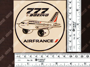 ROUND-AIR-FRANCE-PUDGY-STYLE-BOEING-B777-DECAL-STICKER-3-5-x-3-5-in-9-x-9-cm