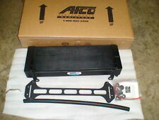 Supercharged 99 04 Lightning Black Double Pass Afco Heat Exchanger Intercooler