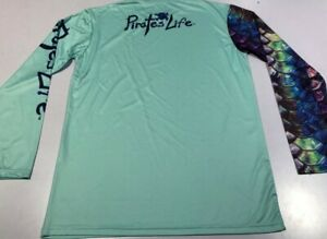 PIRATE'S LIFE BRAND FISHING/BOATING LONG SLEEVE QUICK DRY UV PROTECTANT SHIRT