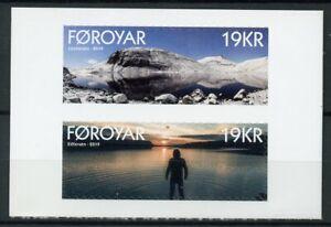 Féroé îles Féroé 2019 Neuf Sans Charnière Eidisvatn Leynavatn 2 V Aa Set Lacs Tourisme Timbres-afficher Le Titre D'origine Beau Lustre