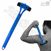 Mens Shaving Back Hair Shaver Removal Safety Blade Personal Care Body Groomer