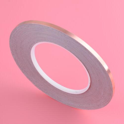 Details about  /5mm x 50M Single Side Conductive Copper Foil Shielding Tape Self Adhesive