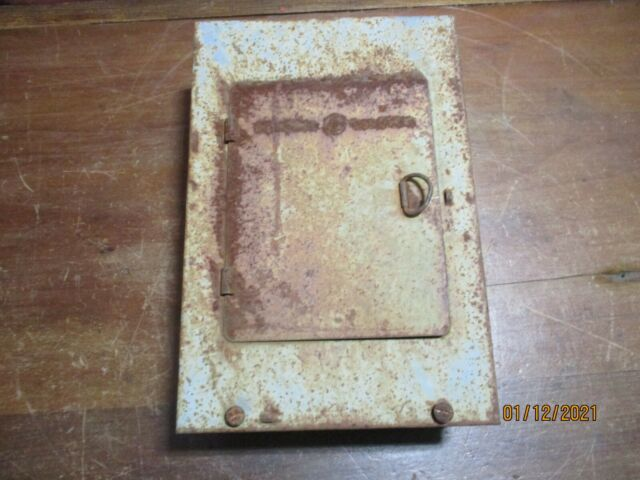 vintage bulldog electric main/range fuse box 60-amp 125/250-volt panel  pullout for sale online | ebay  ebay