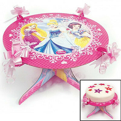 9.8in Disney Princess Sparkle Style Party Birthday Disposable Cake Stand