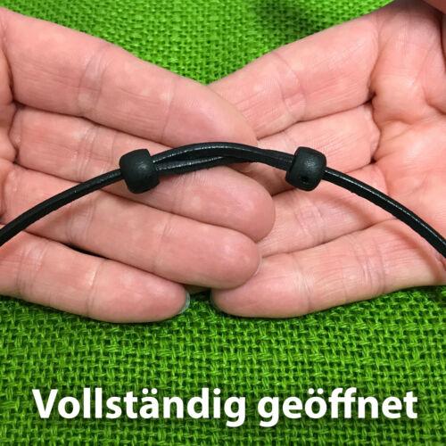 Thorshammer Thor Hammer Mjölnir Lederkette Halskette Halsband Wikinger Kette