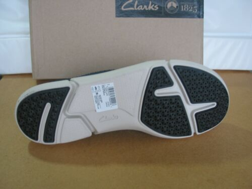 NEW MENS CLARKS TRIGENIC TRIFRI LACE SOFT LEATHER TRAINERS SHOES SIZE 7,7.5/& 8.5