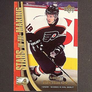 MIKE-RICHARDS-Rookie-2005-06-UD-Stars-In-The-Making-SM12-Washington-RC-single