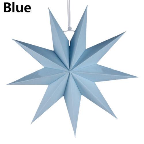 Star Paper Lantern Lampshade Wedding Party Xmas Pub Hanging Decor Gift UK Seller