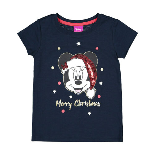 Disney Minnie Mouse Girls Merry Christmas tee t shirt top New with tags