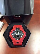 New Casio GA700-4A G-Shock Super Illuminator 3D Ana-Digital Men's Watch