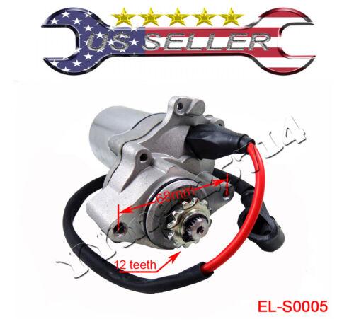 Starter Starting Motor ATV QUAD 50 70 90 110 125cc 2-Bolt Lower Mount