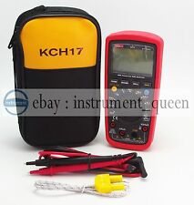 Uni T Ut139c With Case Kch17 True Rms Lcd Digital Auto Range Multimeter Acdc