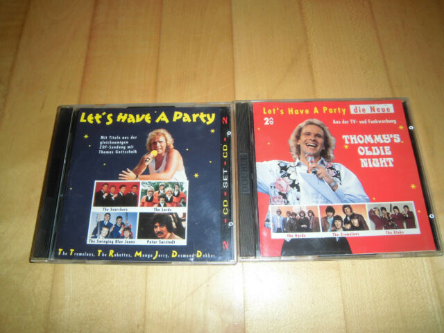 Let's Have A Party - 2 Doppel-CDs Chris Andrews The Troggs The Lords McCoys