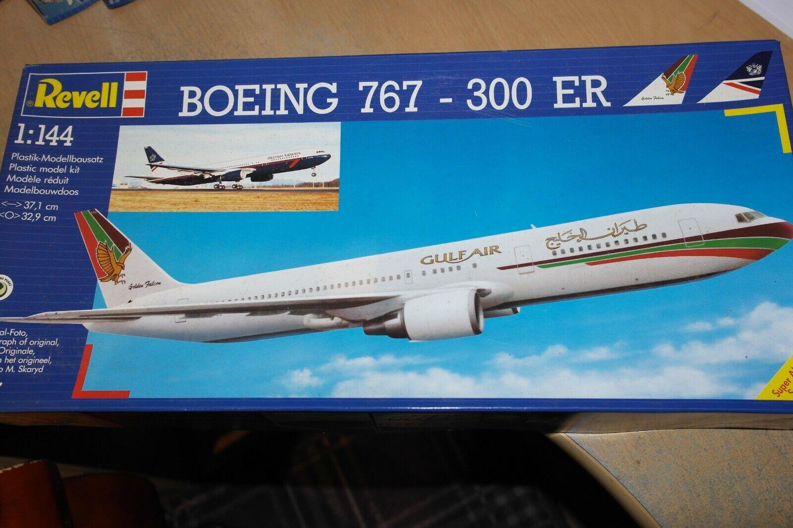 REVELL 1 144 BOEING 767 -300 ER BRITSH AIRWAYS   GULF AIR 4217