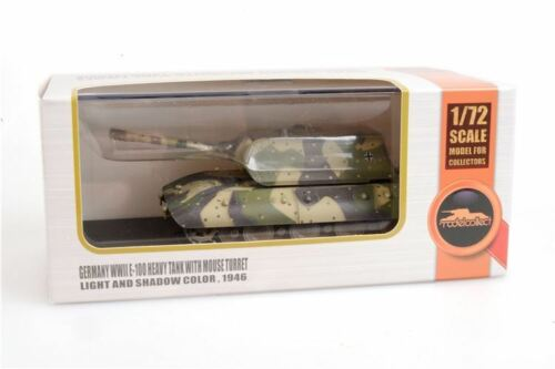 Modelcollect AS72123 - 1/72 Germany WWII E-100 Heavy Tank with Mouse turret