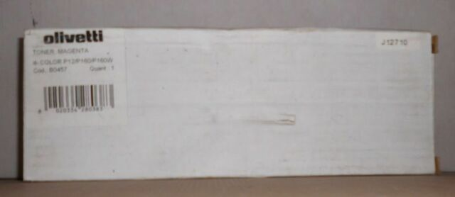 Olivetti Toner  B0457 magenta für d-Color P12 P160 P160W  5000 Seiten OVP B