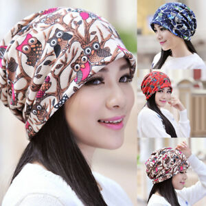 EG-Women-Fashion-Cartoon-Owl-Winter-Warm-Beanie-O-Ring-Collar-Scarf-Gift-Showy