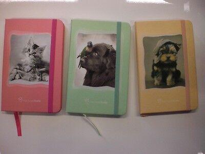 3 Quaderni Rachel Hale Mini Quaderni Con Elastico Nuovo 9 X 14
