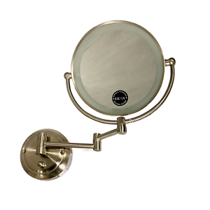 Zadro Light Dimmable Dual Sided Glamour Wall Mount Mirror
