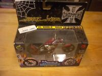 West Coast Chopper Jesse James El Diablo Rigid Red 1:18 Scale 2003